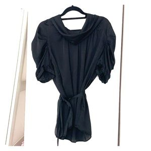 BCBG max Azria black beautiful blouse